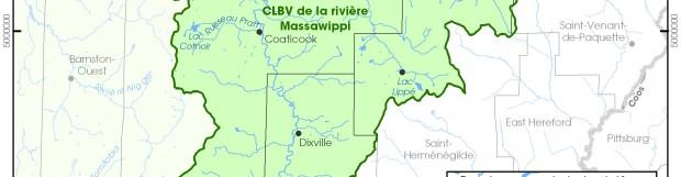 Quatre projets financés dans le bv de la rivière Massawippi