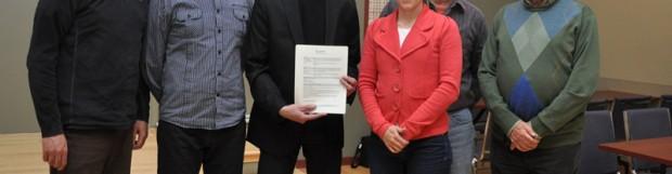 Une entente de bassin est signée pour l'impact du marnage au Grand lac Saint-François
