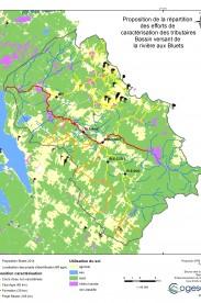 Proposition de caractérisation par les partenaires du projet de la rivière aux Bluets