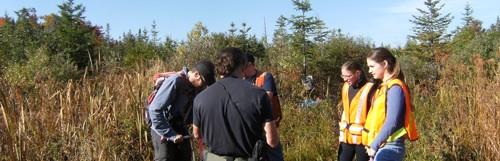 Un projet de modélisation des débits dans le bassin versant de la rivière au Saumon (est)