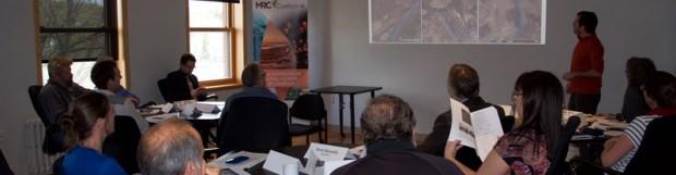 Les partenaires au travail pour l'espace de liberté de la rivière Coaticook