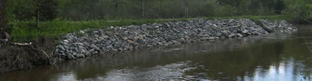 Modélisation de l'érosion de la rivière Tomifobia
