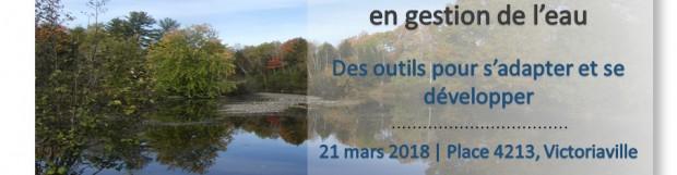 Journée d'information sur l'eau 2018